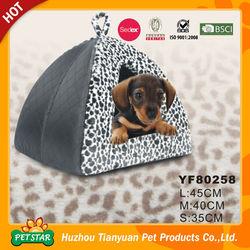 Top!!! Popular Indoor Professional Elegant Design Comfortable Dog House Pet Bed