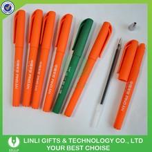 Promotion activity on sale Logo Plastic Gel Pen
