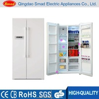 Energy-efficient stainless steel commercial french door refrigerator