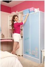 Fancy high quality bedroom furniture wardrobe DIY high-grade colorful furniture bedroom