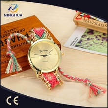 2015 New Design Women/Girl Handmade Cheap Watches