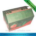 Couleur boîte de carton d'expédition pomme./fruits. carton d'expédition