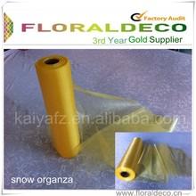 Popular High Quality Organza Roll 28cm*26M Wedding Party Decorations