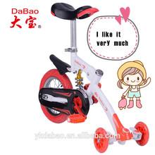 foot brake bike for children with 3 wheels