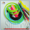plastic braided power line bundling and protect sleeve