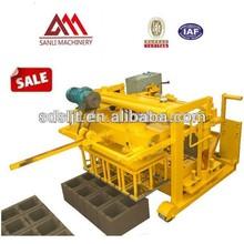 Hot sale! QT40-3A egg laying Small Size Brick Making Machine Price