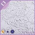 skillfulcalidad mate satinado de corte por láser flor de diseño de bordado chino