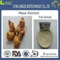 Sex medicine maca extract 4:1 powder,maca root powder,free samples maca extract