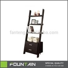 Free Standing DIY Drawer Chest Bookshelf Modern Wooden Bookcase