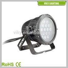 outdoor 19 10w quad RGBW LED Stage Wash Light