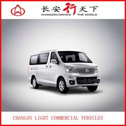 China CHANGAN left handle drive 5MT manual transmission Mitsubish engine gasoline 1.5L 9-11 passengers mini van