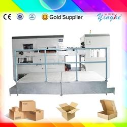 super grade semi automatic corrugated board automatic die cutting with score for wine box