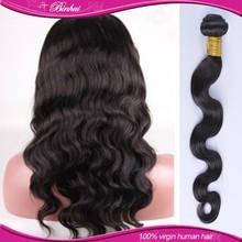 Tangle free No shedding loose body wave hair unprocessed brazilian hair weave