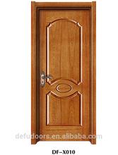 ASH natural veneer mould glass painting door/toilet door/bathroom door