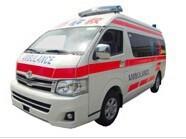 Toyota Hiace DIESEL2.5 Ambulance ( LHD/RHD)