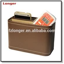PU Leather Desk Storage box for remote controller LG8067