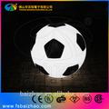 pe plástico brilhante impermeável rotação moldada iluminação led de futebol