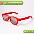 تعزيز!! النظارات البلاستيكية المستقطبة 3d الاطفال، الفيلم 3d نظارات