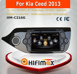 Hifimax car dvd gps car navigation for KIA CEED radio 2012 2013 2014 /for kia ceed 2 din car radio
