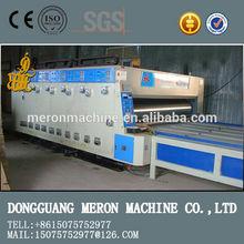 ECONOMIC YFQ semi-automatic ink 1-4 color printing slotting die-cutting machiner