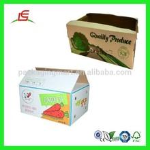Q504 Alibaba China Wholesale A Large Popular Custom Vegetable Packaging Carton Boxes Box