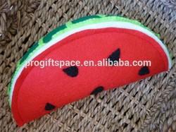 2015 felt Watermelon Wedge Felt Play Food made in China