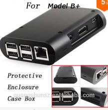 Raspberry Pi Model B + B Plus Black Case Cover Shell Enclosure Box