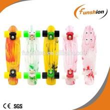Nickel board skateboard penny /finger penny board /penny cruiser board