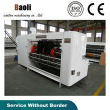 Rotary Round Pressure slotter Machine /slot ,slice the corner ,press the line machine /Hot sale carton packing mchines