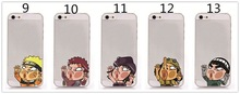 Wholesale Phone Cover Factory Unique Cartoon Characters Hit The Glass PC Hard Shell Back Cover Case For iPhone 6 4.7 Inch