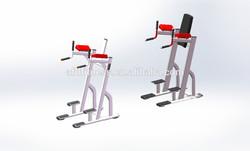 Strength Machine/Gym fitness equipment/Body Fit Machine/Vertical Knee Raise