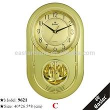 Rotating pendulum clock with 16 classical music