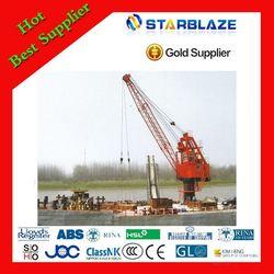 New products most popular marine telescopic crane manufacturer