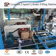 Small/Medium/Large Cryogenic Liquid Oxygen Pump and Vaporizer Cylinder Filling Station Skid