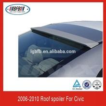 FIBER GLASS REAR ROOF SPOILER FOR CIVIC 2006-2010