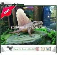 Hand made artificial realistic art dinosaur