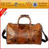 oversized leather duffel tote bag weekender travel shoulder handbag