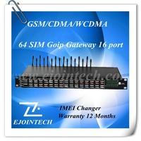 16 channel 64 sims gsm gateway /8 port goip gsm gateway, sim bank voip internet calls,16 ports gsm voip gateway