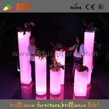 light led decor/flower vase column/wedding decoration pillars