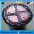 Fino o grueso de alambre de acero blindado cable, swa cable de textiles del cable eléctrico