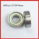 Deep groove ball bearing 6001zz dedicated to the motor
