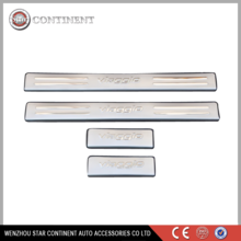 car accessories stainless steel car door sill for viaggio