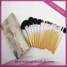 22 pcs make up brushes , private lable makeup brush set