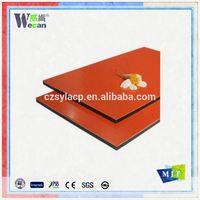 Wecan wall cladding aluminum building mateiral 3mm 4mm 5mm acp