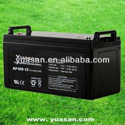 Yuasan Producing Super AGM Battery VRLA Sealed 12V Lead Acid UPS Battery -NP100-12(12V100AH)