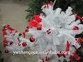 120cm 4ft natal artificial partes da árvore de natal branco decoração da árvore