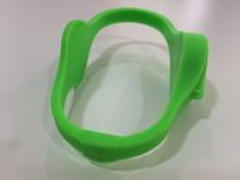 New fashion design adjustable silicon wristband /pvc id card