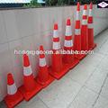 700mm base de negro pvc conos de tráfico