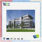 Wecan wall cladding aluminum building mateiral different types of aluminium composite panel
