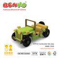 Construção de madeira set- carro jeep controleremoto brinquedos atacado